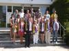 Delegation von Schülern aus Iwanowo (Russland) am 09.07.2013 zu Gast in Tecklenburg