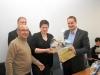 Die Partnerschaft mit Chalonnes/Frankreich lebt! Gastgeschenke und gute Worte