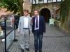 Besuch von Ralf Stegner (Vorsitzender der SPD-Landtagsfraktion und SPD-Landesvorsitzender in Schleswig-Holstein)