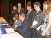 internationales UN-Planspiel beim GAG mit der ersten Sekretärin der Nigerianischen Botschaft