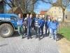 Ausbau Moorstrasse: Dank an die Bauarbeiter von Fa. Bäumer und Bürgermeister