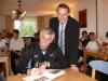 Argentinische Volleyball-Nationalmannschftsnachwuchs in der JH Tecklenburg