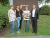 Neue Azubis im Tecklenburger Rathaus begrüßt