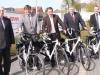 Übergabe der E-Bikes durch die Stadtwerke Lengerich